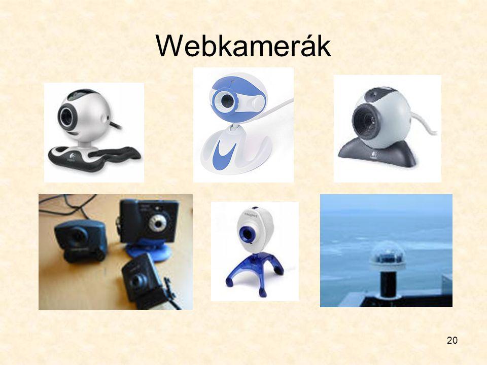 20 Webkamerák