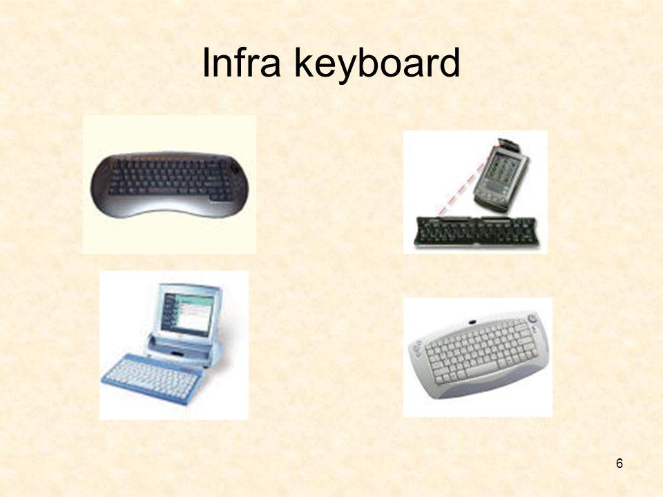 6 Infra keyboard