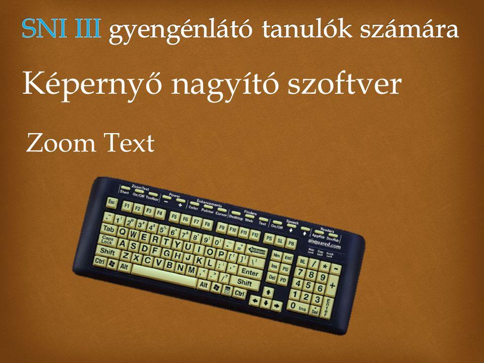 Akadálymentes technikákra jó lehetőséget kínál a Lapoda multimédiaszerkesztő szoftver http://www.lapoda.hu