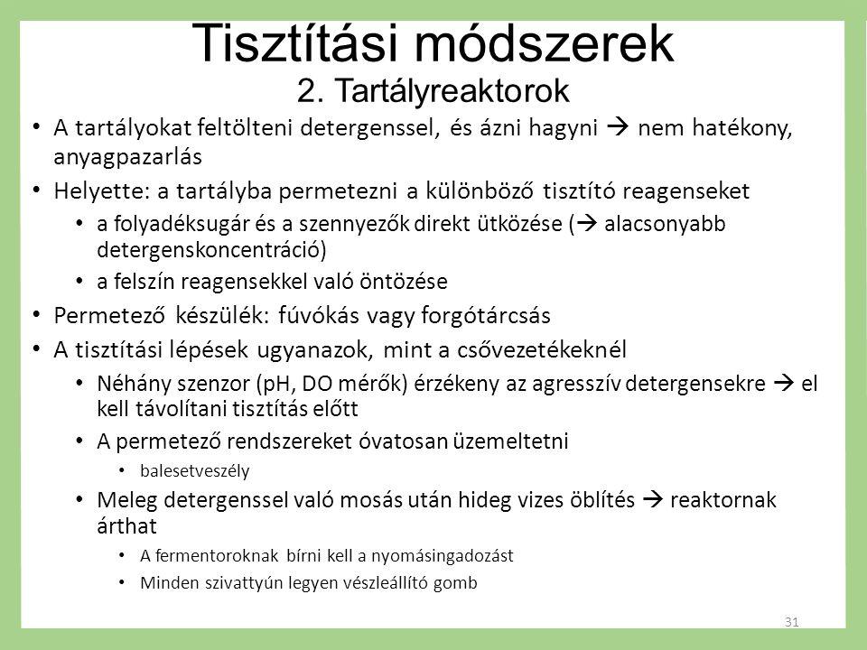 Tisztítási módszerek 2.