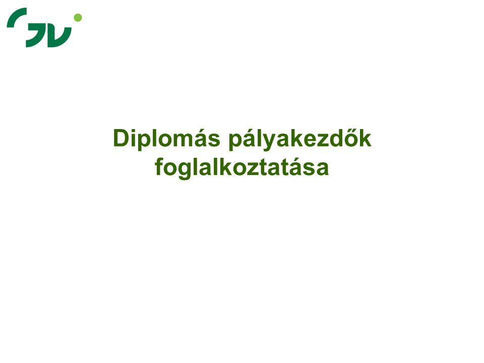 Diplomás pályakezdők foglalkoztatása