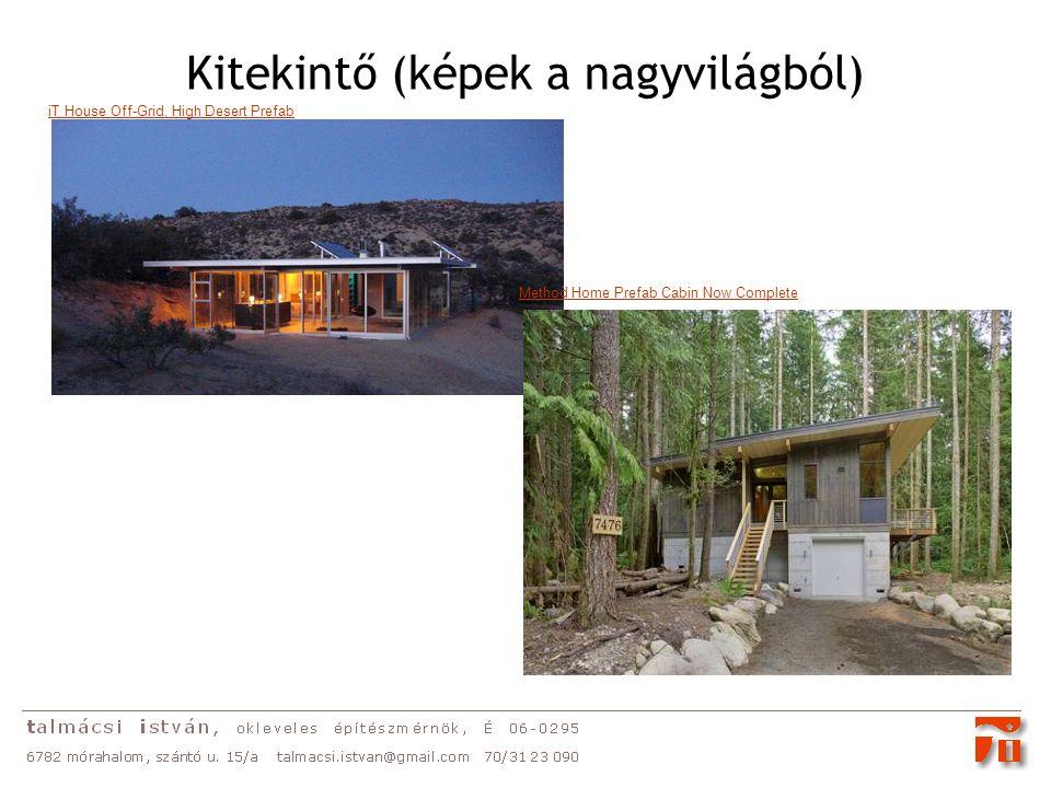 Kitekintő (képek a nagyvilágból) iT House Off-Grid, High Desert Prefab Method Home Prefab Cabin Now Complete