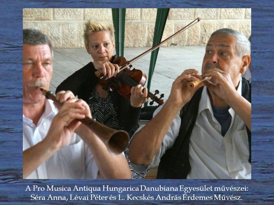 A Pro Musica Antiqua Hungarica Danubiana Egyesület művészei: L.