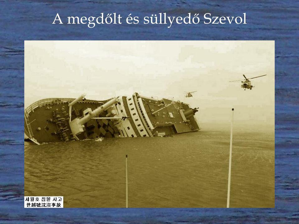 A dél-koreai kompkatasztrófa  A dél-koreai MV Szevol nevű komp 2014 április 16-án szenvedett végzetes balesetet.