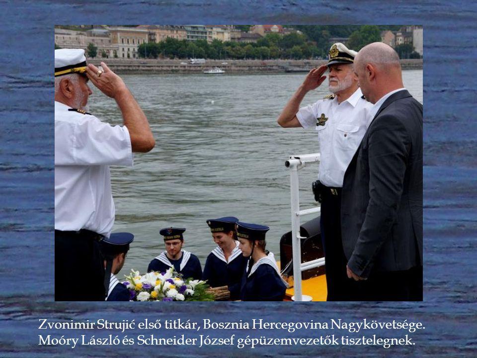 Berislav Živković ideiglenes ügyvivő, a Horvát Köztársaság Nagykövetség tanácsosa.