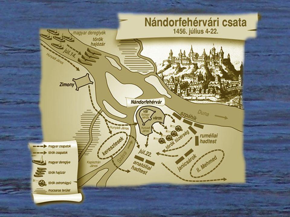 Singidunum — Beográd — Belgrád — Belgrade Nándorfehérvár Sokat szenvedett dunai város a Száva torkolatában.