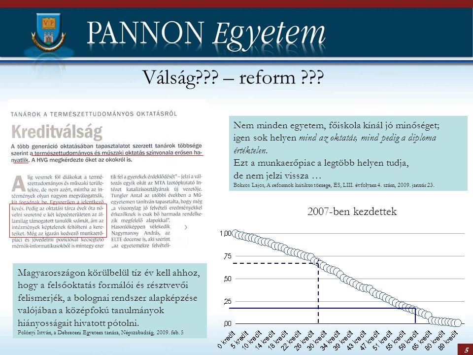 5 Válság . – reform .