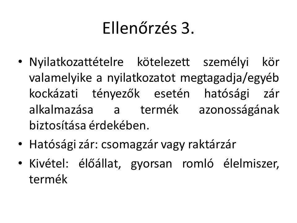 Ellenőrzés 3.