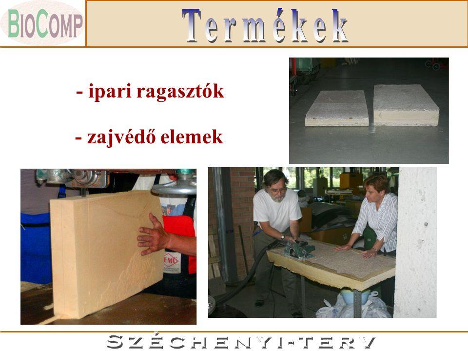 - ipari ragasztók - fóliák - zajvédő elemek