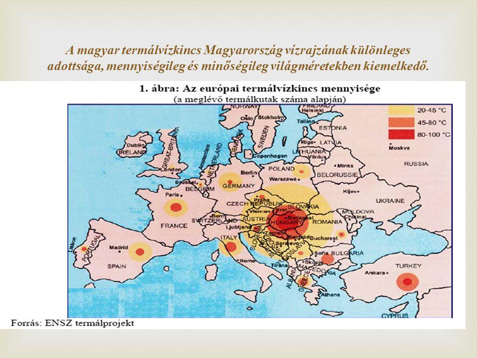 A magyar termálvízkincs Magyarország vízrajzának különleges adottsága, mennyiségileg és minőségileg világméretekben kiemelkedő.