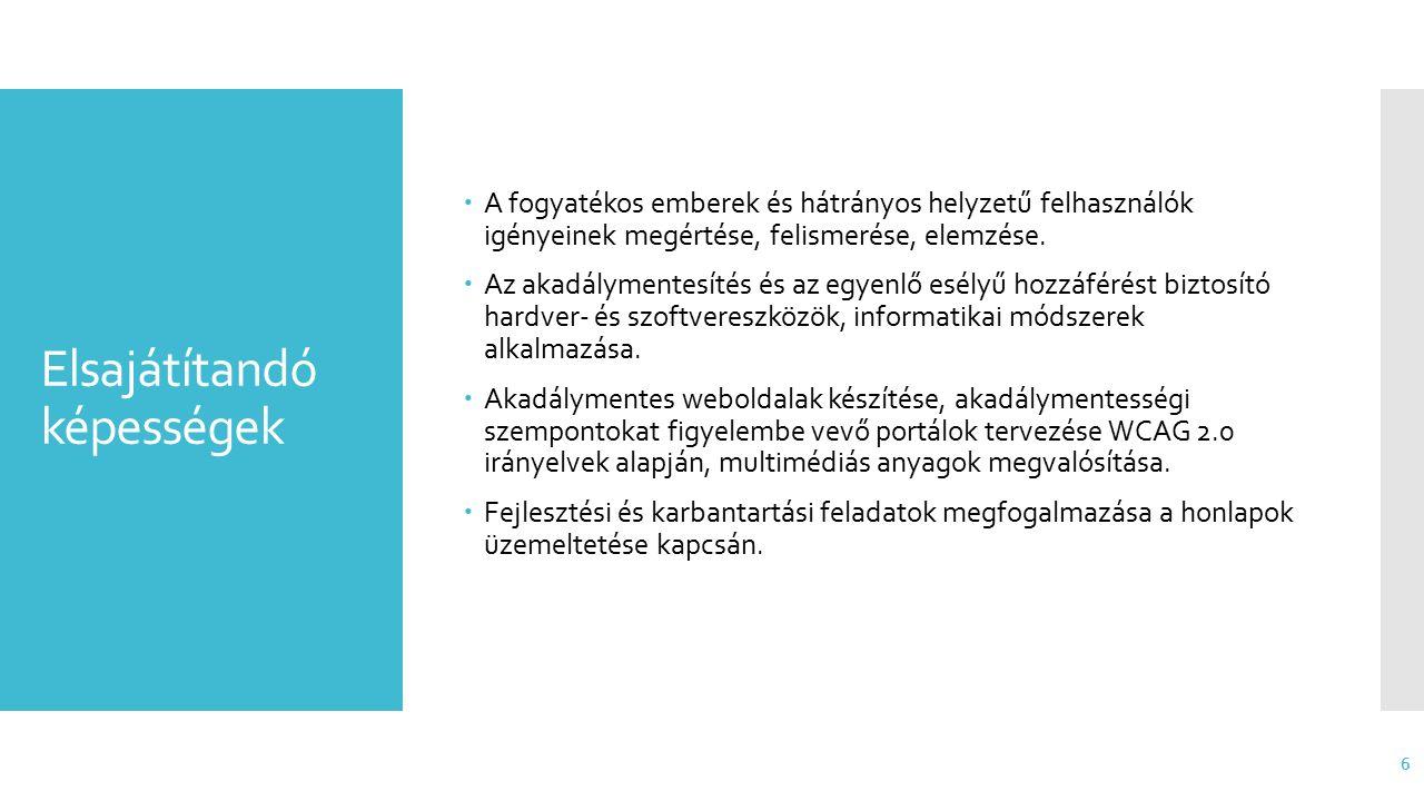 Ütemezés Kimeneti követelmények Következmény  2014.