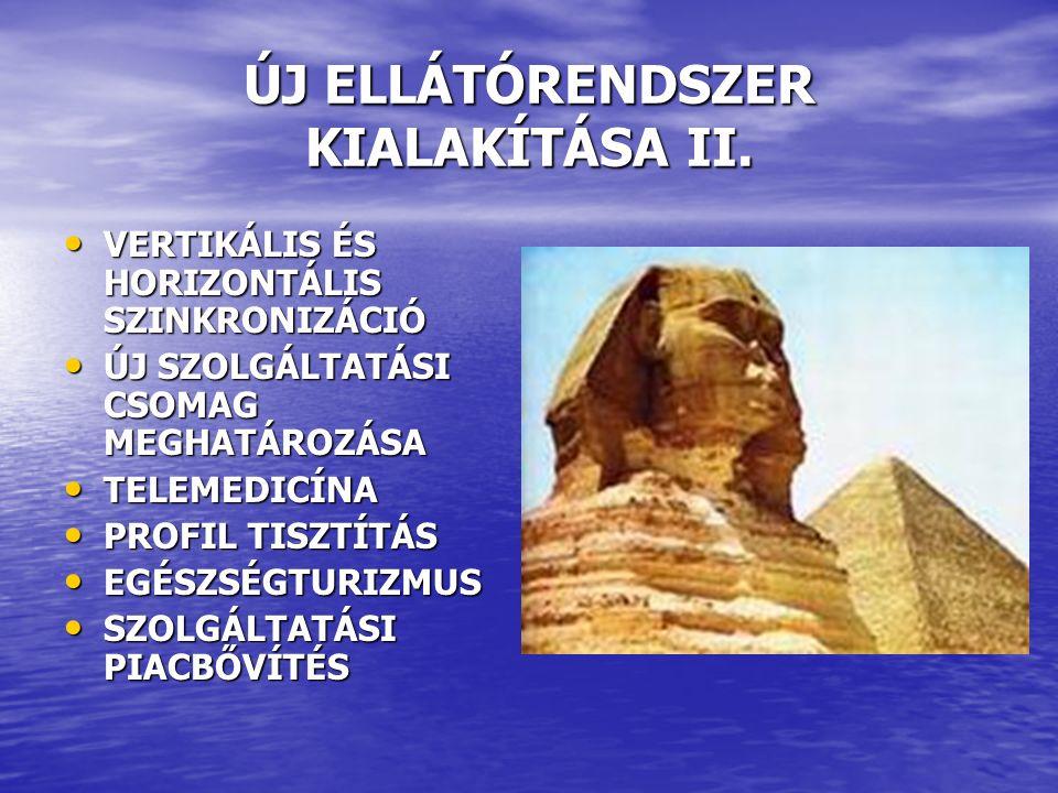 ÚJ ELLÁTÓRENDSZER KIALAKÍTÁSA II.