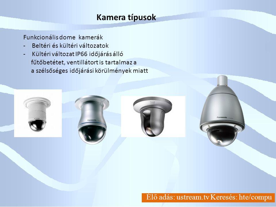 IEC 60068-2-75**0.14J0.2J0.35J0.5J0.7J1J2J5J10J20J50J Free fall ( times )33333333333 IEC 62262*IK01IK02IK03IK04IK05IK06IK07IK08IK09IK10 Impact energy (J)0.14J0.2J0.35J0.5J0.7J1J2J5J10J20J Free fall ( times )5555555555 I*IEC 62262 (=originally defined in European Standard BS EN 50102:1995) Degrees of protection provided by enclosures for electrical equipment against external mechanical impacts (IK code) **IEC 60068-2-75:1997 (=JIS C 60068-2-75:2004) Environmental testing - Part 2-75: Tests - Test Eh: Hammer tests Weight (5kg) The top figure: SR50 5kg 0.4m×5 times by free fall IEC 62262 IK10 0.4m 5kg 1.0m×3 times by free fall IEC 60068-2-75 test Eh 5 0J 1.0m Panasonic meghatározása szerint a kamera ellenállása jobb IK10(IEC62262)-nél Külső vandálbiztonsági teszt