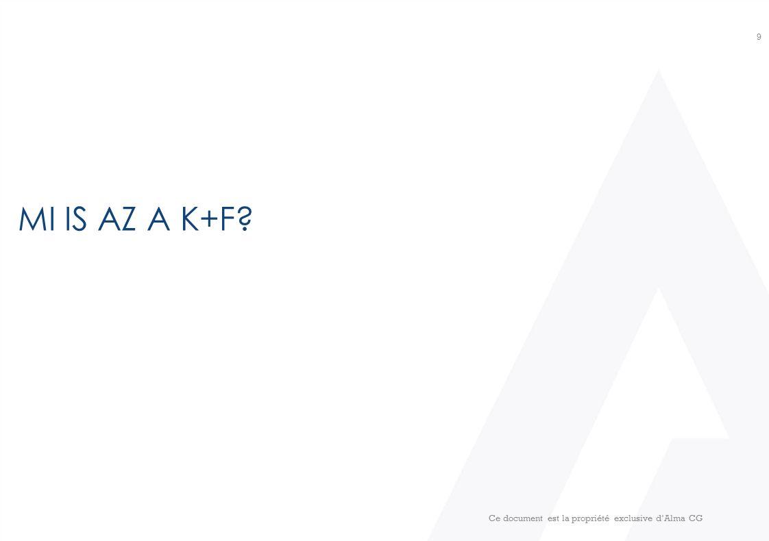 K+F FOGALMI SZINTEN 10 Alapkutatás Alkalmazott kutatás Kísérleti fejlesztés Frascati Kézikönyv, 2002 2014.