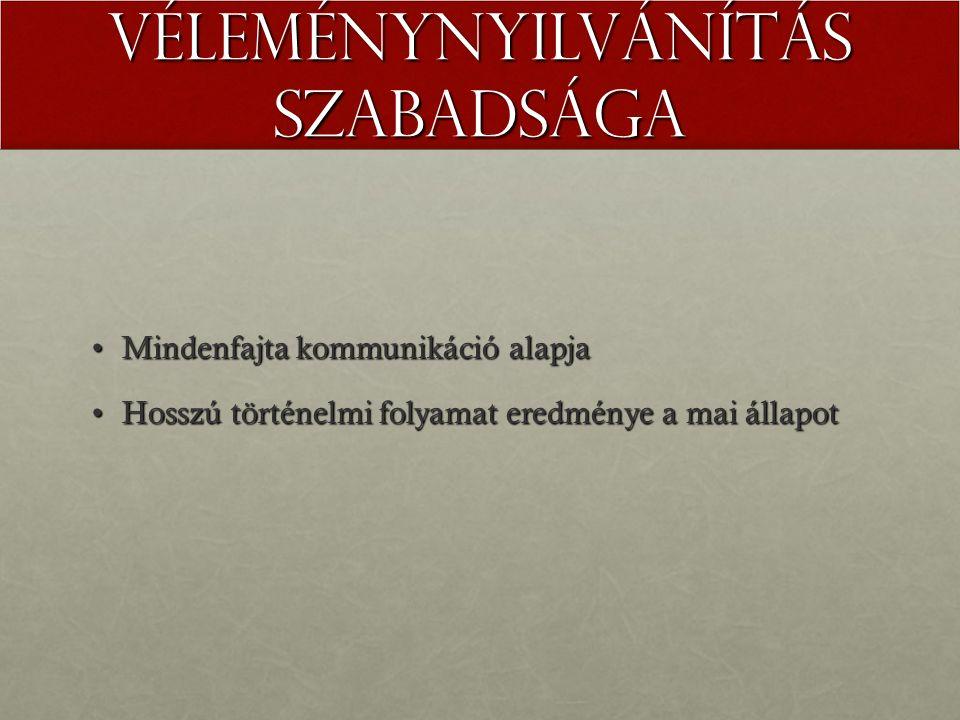 Alapjogok Emberi jogokÁllampolgári jogok Korlátozhatatlan, sérthetetlenKorlátozható, 'sérthető' (pl.