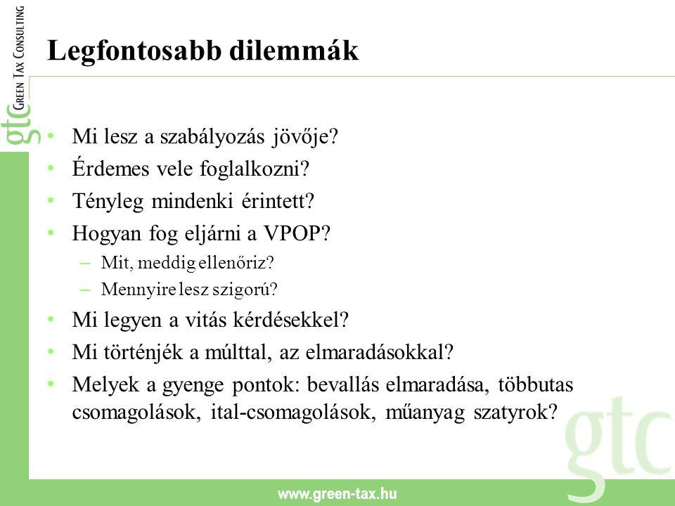 www.green-tax.hu Kik vagyunk.Vezető tanácsadók: – Kelemen István (2004-2008 KvVM) – Dr.