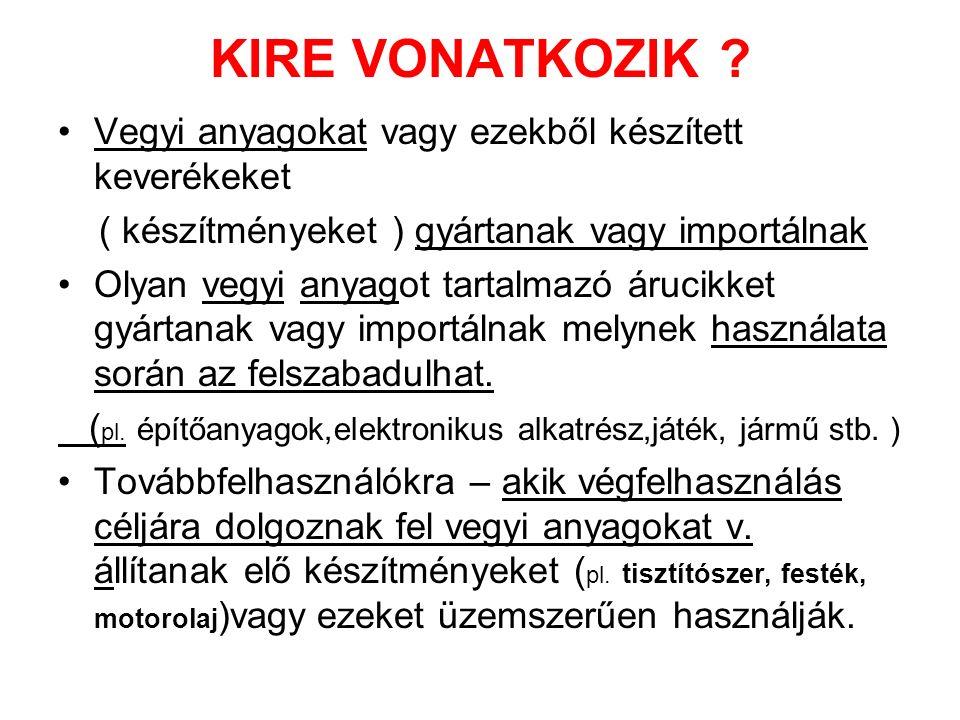 KIRE VONATKOZIK .
