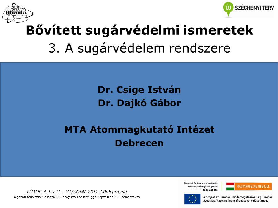 TÁMOP-4.1.1.C-12/1/KONV-2012-0005 projekt 12 3.3.Magyarországi jogi szabályozás 1996.