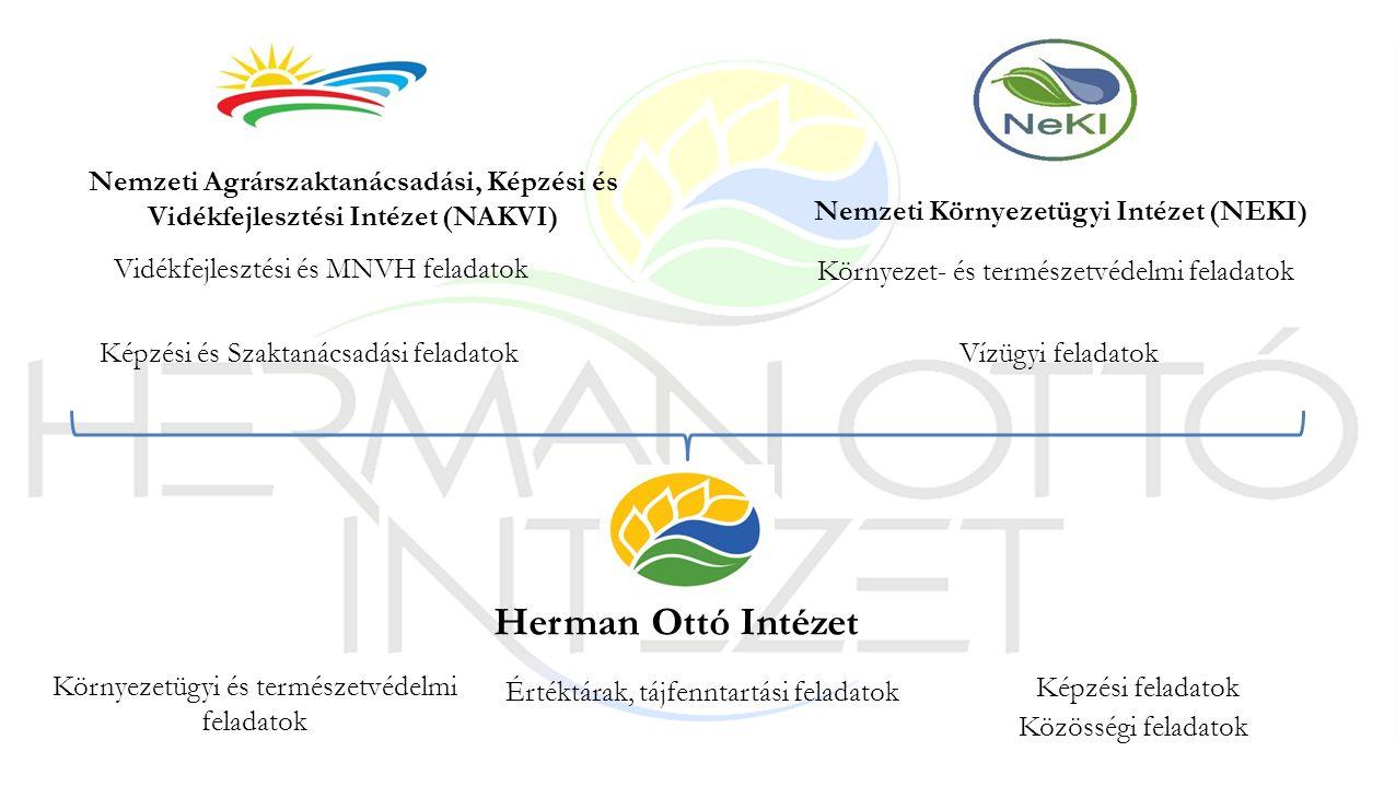 Nemzeti Agrárszaktanácsadási, Képzési és Vidékfejlesztési Intézet (NAKVI) Vidékfejlesztési és MNVH feladatok Képzési és Szaktanácsadási feladatok Nemz