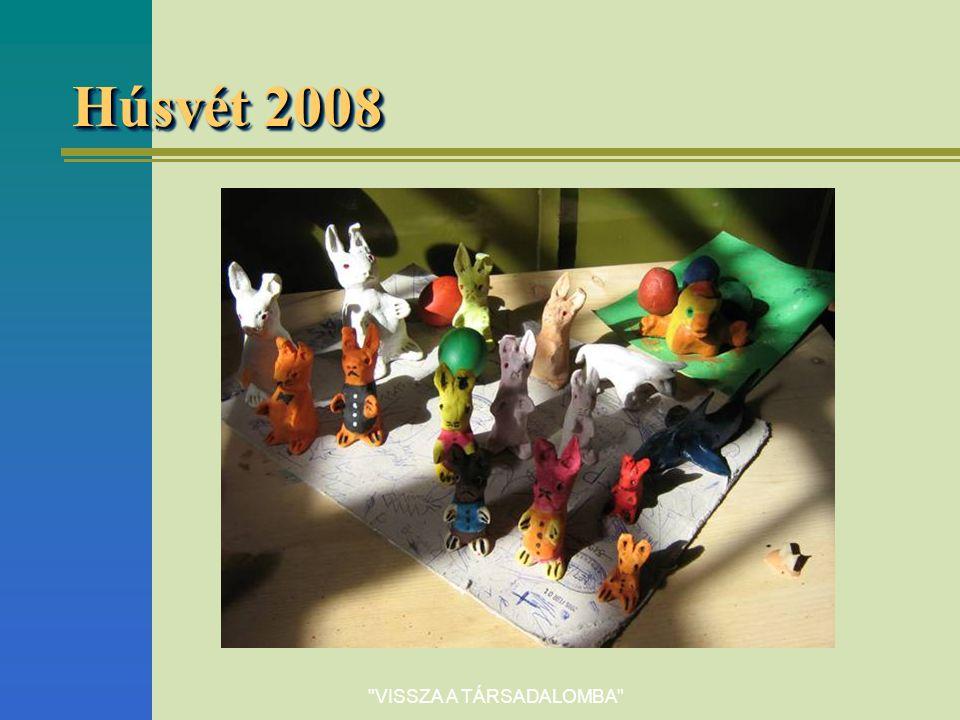 VISSZA A TÁRSADALOMBA Húsvét 2008