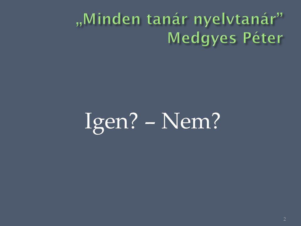 Igen – Nem 2