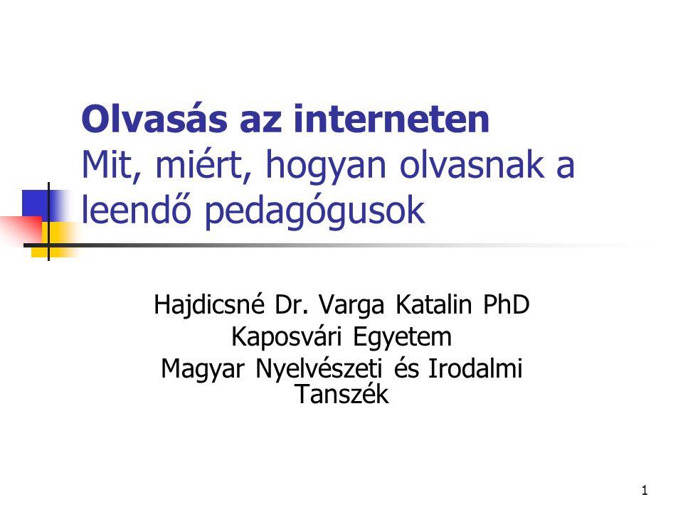 12 Kutatások az internet használatáról A Voxline Kft.