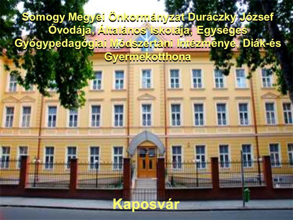 Somogy Megyei Önkormányzat Duráczky József Óvodája, Általános Iskolája, Egységes Gyógypedagógiai Módszertani Intézménye, Diák-és Gyermekotthona Kaposv