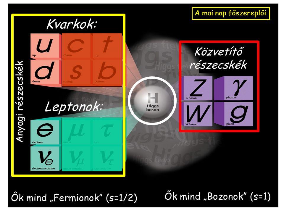 Kész a leltár: Lássuk hát most a ma ismert valóban ELEMI részecskéket.