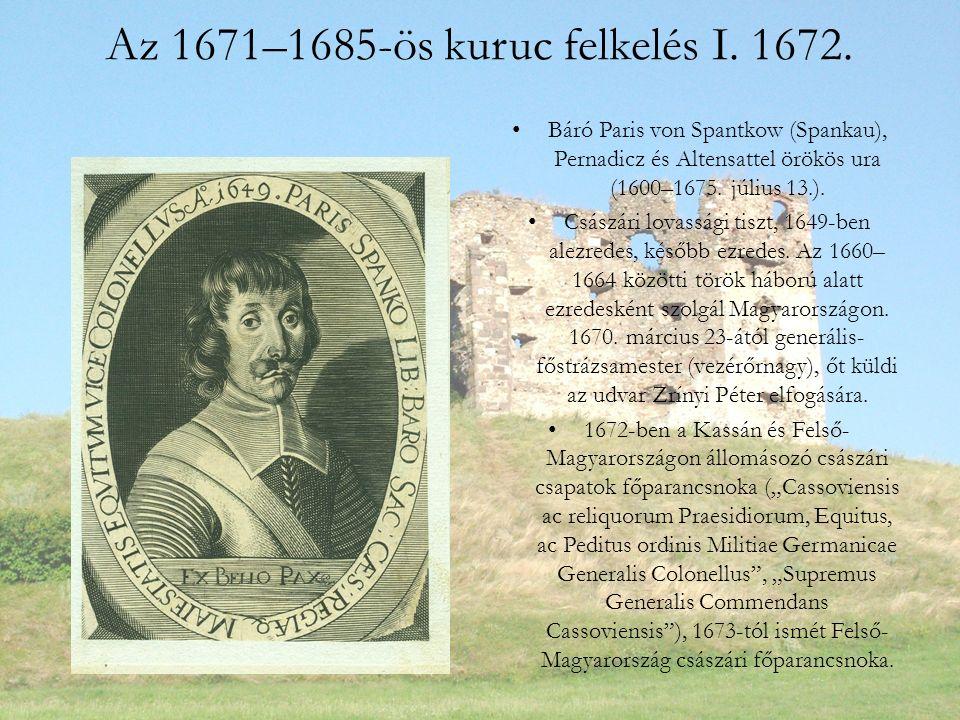 Az 1671–1685-ös kuruc felkelés I. 1672.