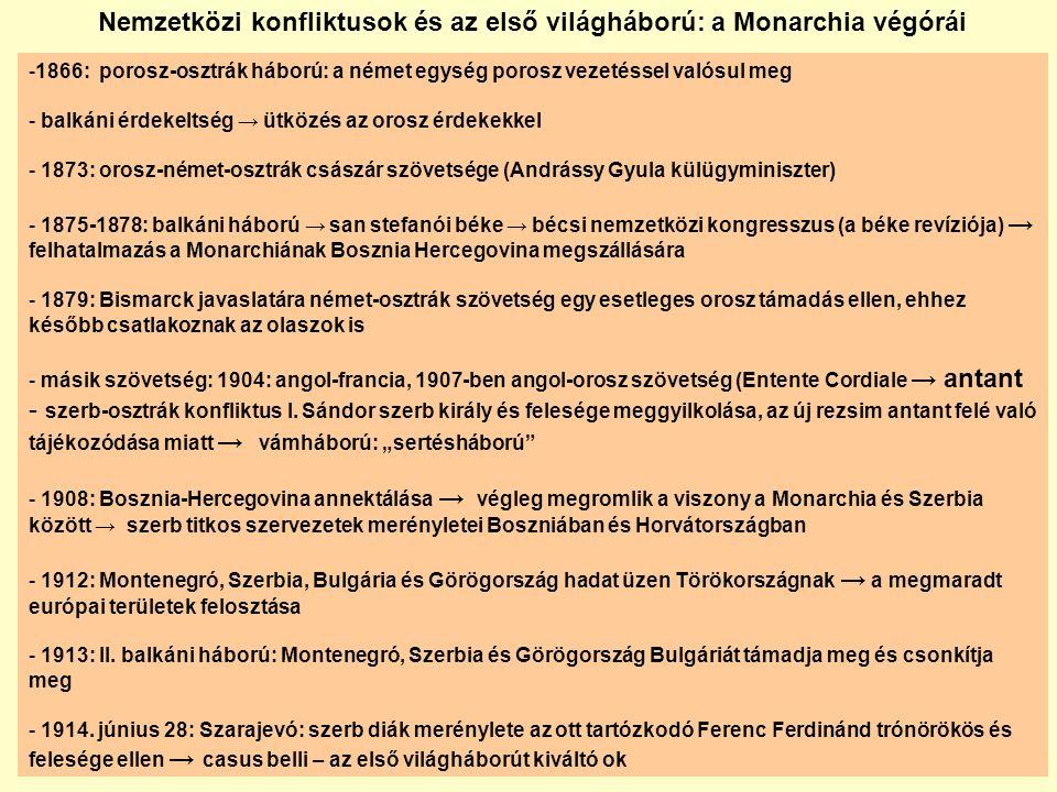 Az új magyar-román határ és az Arad- Nagyvárad-Szatmárnémeti vasút vonala Magyarország elcsatolt területei Magyarország új határai - 30 évig háborús jóvátétel fizetése - korlátozott hadsereglétszám és haditechnika birtoklása - a dunai flotilla átadása
