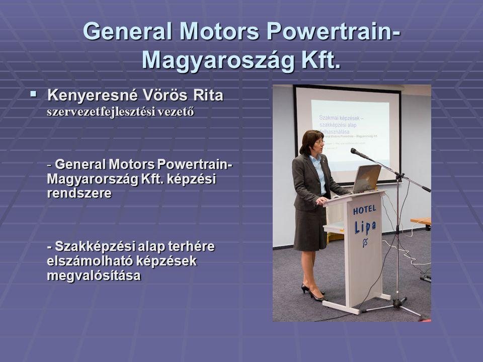 General Motors Powertrain- Magyaroszág Kft.