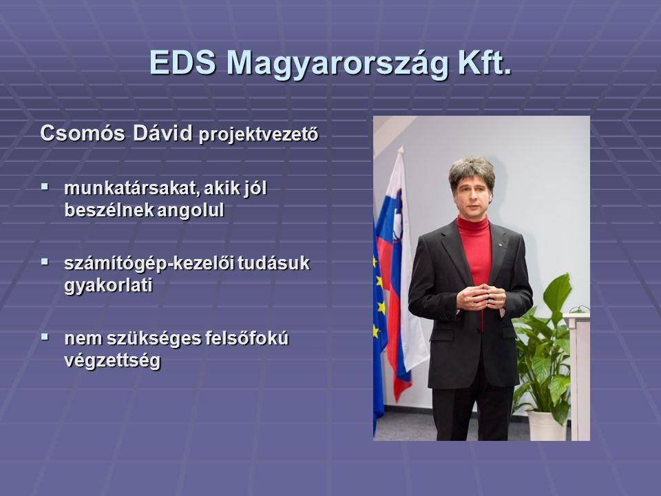 EDS Magyarország Kft.