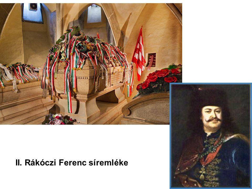 II. Rákóczi Ferenc síremléke