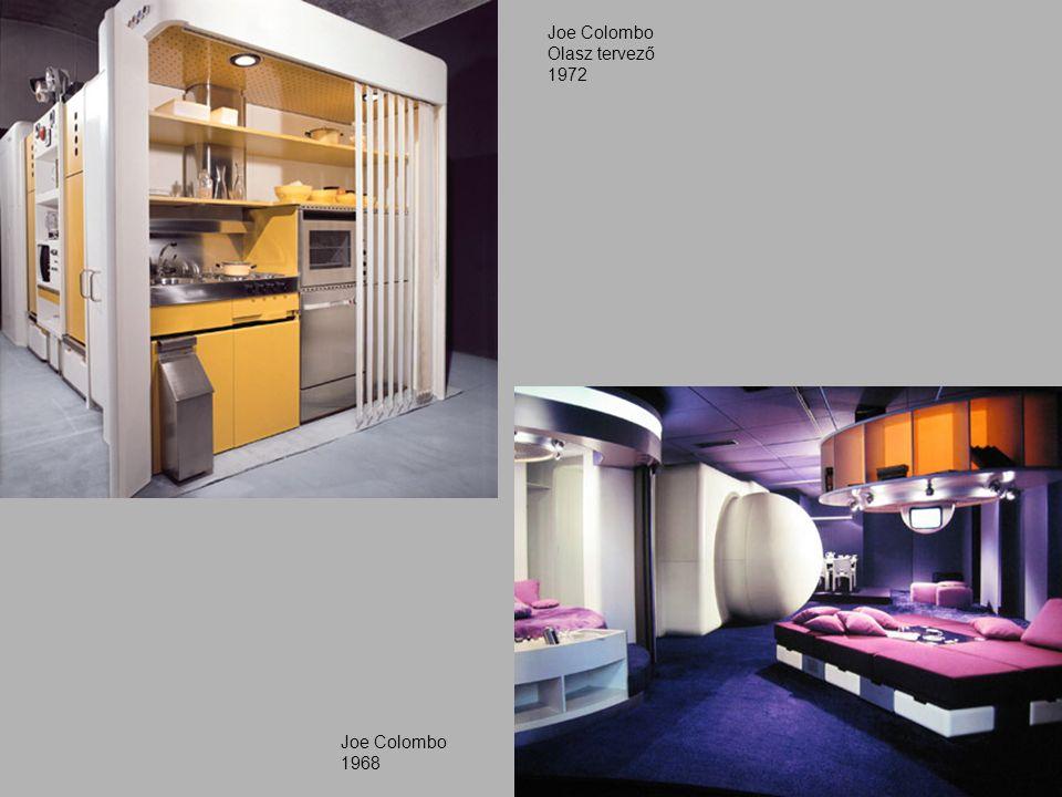 Joe Colombo Olasz tervező 1972 Joe Colombo 1968