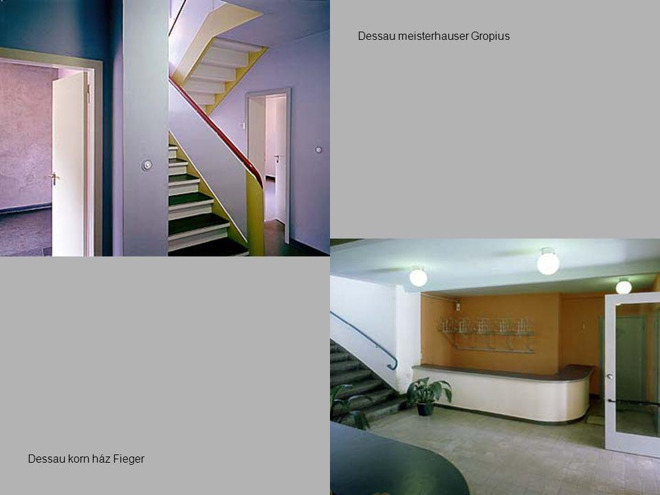Dessau korn ház Fieger Dessau meisterhauser Gropius