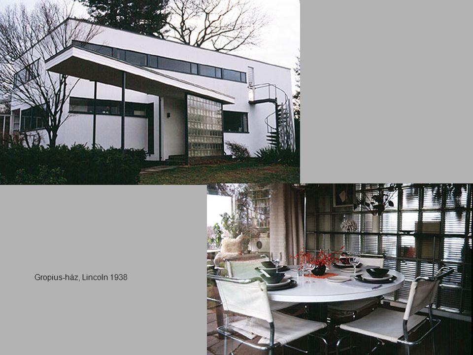 Gropius-ház, Lincoln 1938