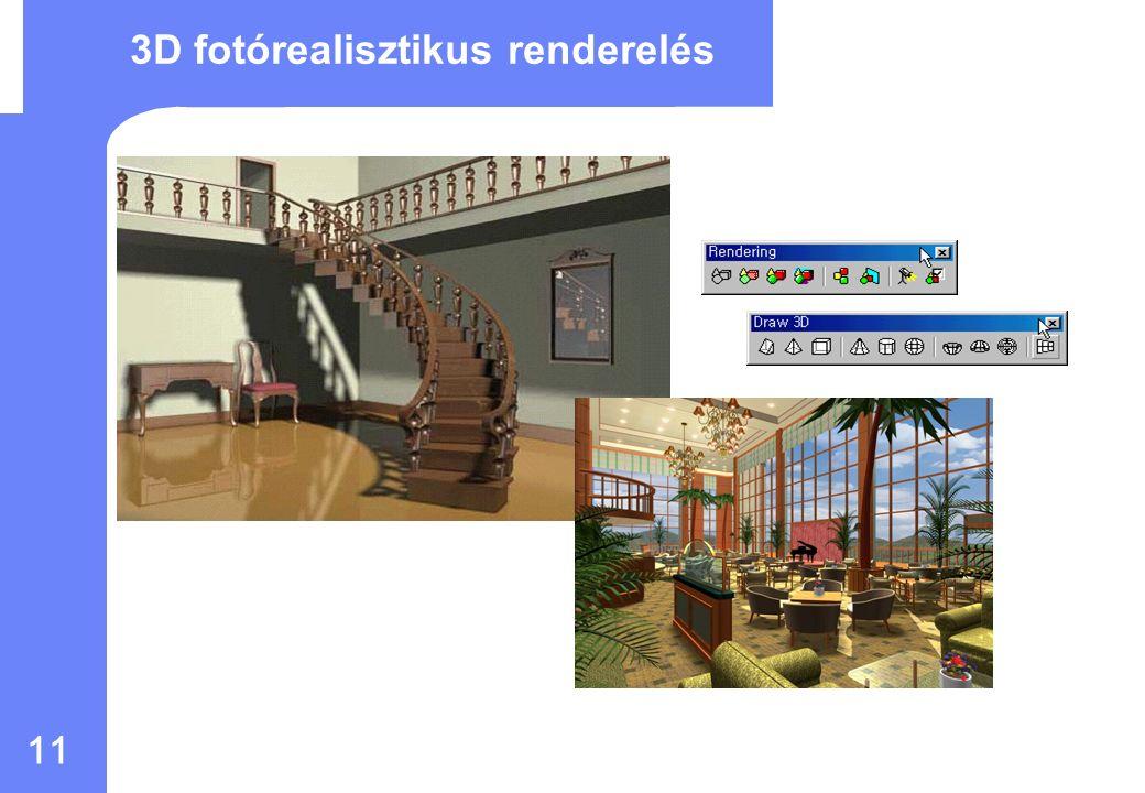 10 Windows környezet Egyszerre több rajz is megnyitható – Rajzok párhuzamos szerkesztése – Másolás, mozgatás, és beillesztés különböző rajzok között Windows 98, 2000, NT 4.0, XP és Vista ActiveX vezérlő