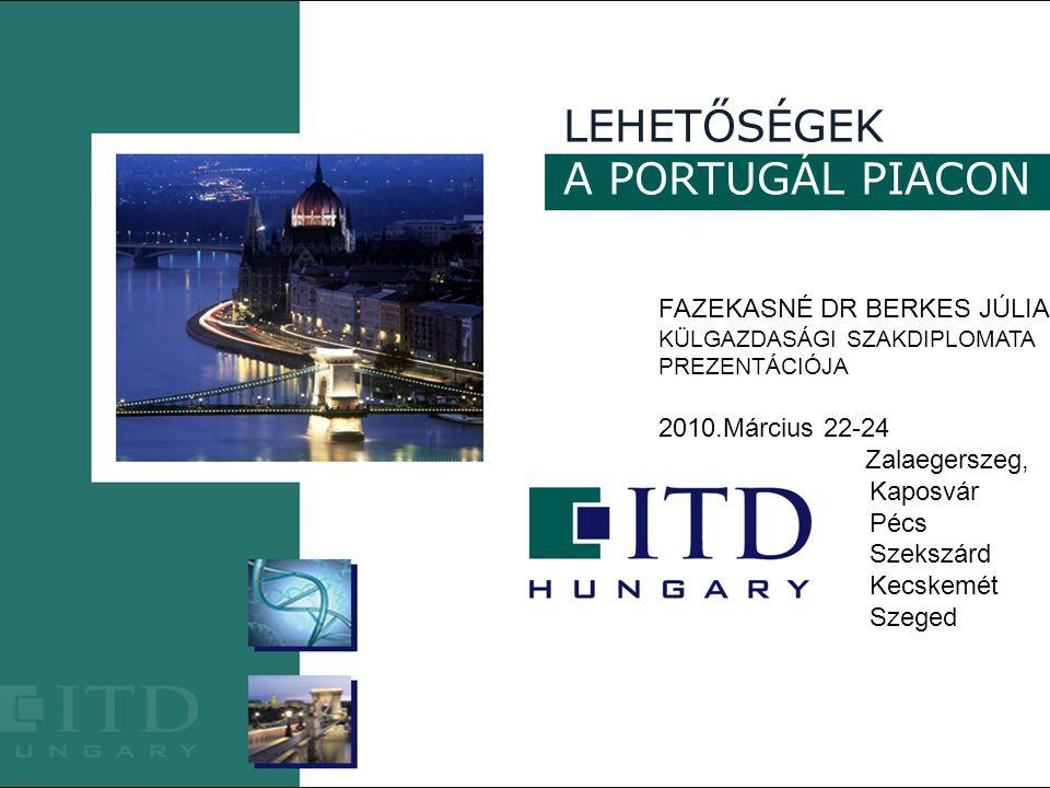 21 Portugáliai Magyar Nagykövetség Külgazdasági Szakdiplomatája, Fazekasné Dr Berkes Júlia