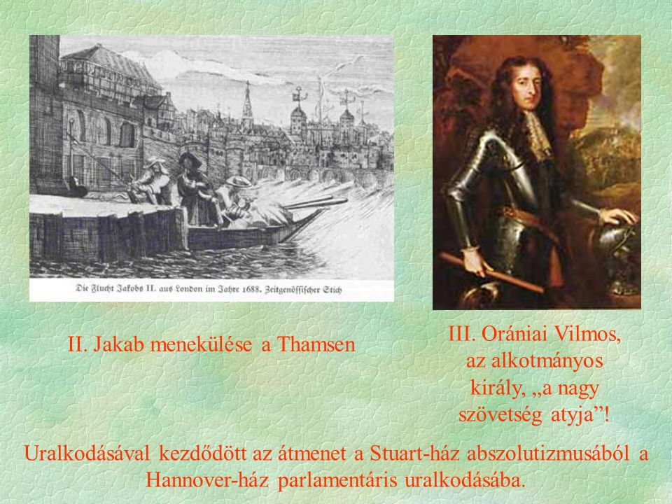 II. Jakab menekülése a Thamsen III.