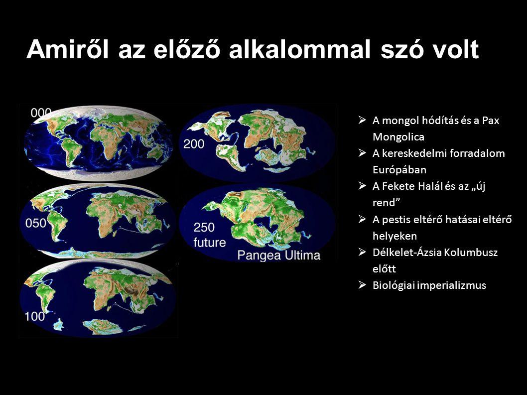 """A VOC felemelkedése és """"európai hatalomváltás (pl."""