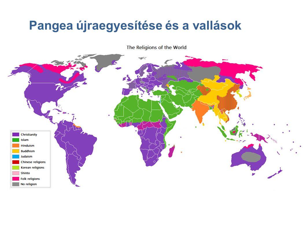 Pangea újraegyesítése és a vallások