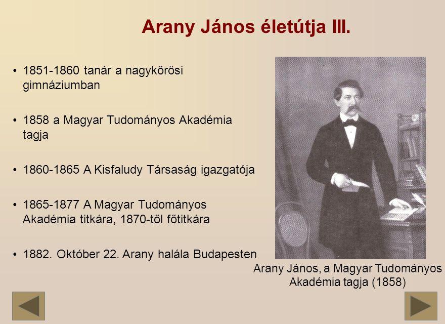 1851-1860 tanár a nagykőrösi gimnáziumban 1858 a Magyar Tudományos Akadémia tagja 1860-1865 A Kisfaludy Társaság igazgatója 1865-1877 A Magyar Tudományos Akadémia titkára, 1870-től főtitkára 1882.