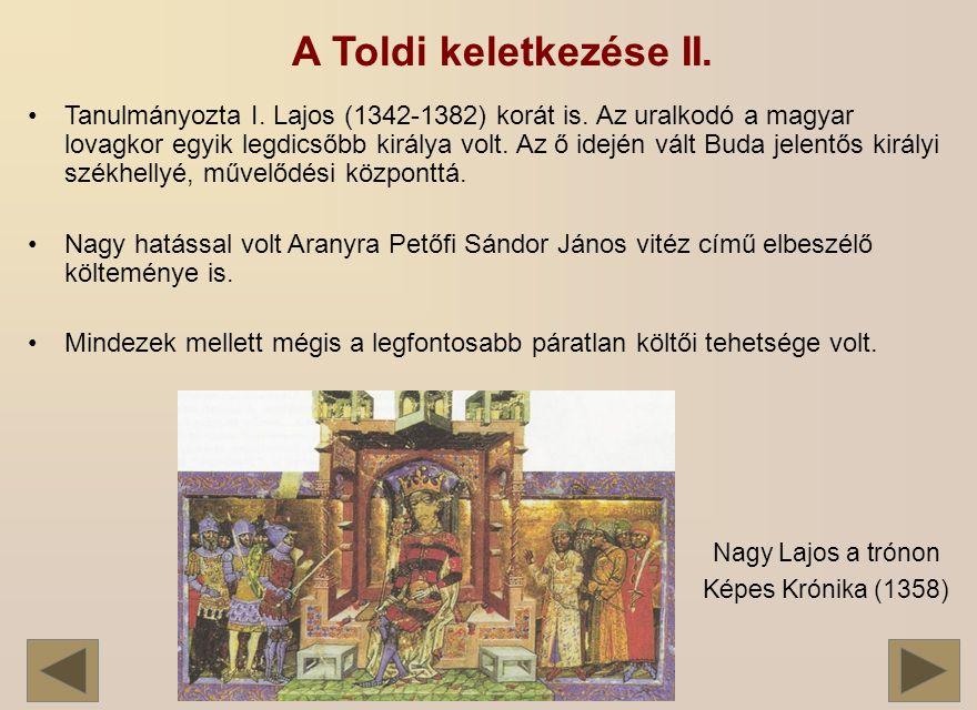 Tanulmányozta I.Lajos (1342-1382) korát is.