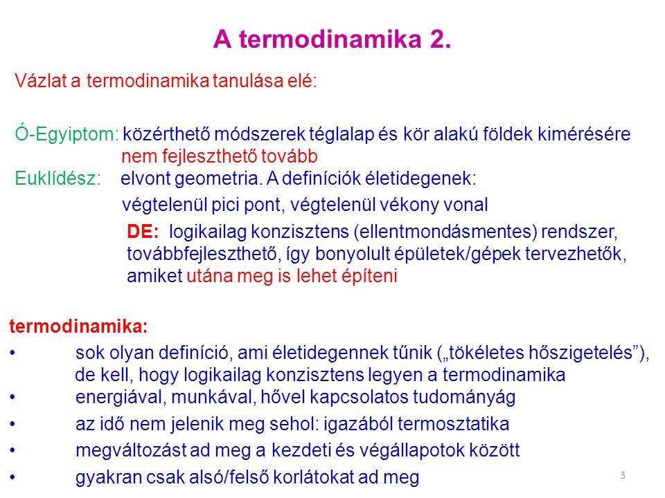 A termodinamika 2.
