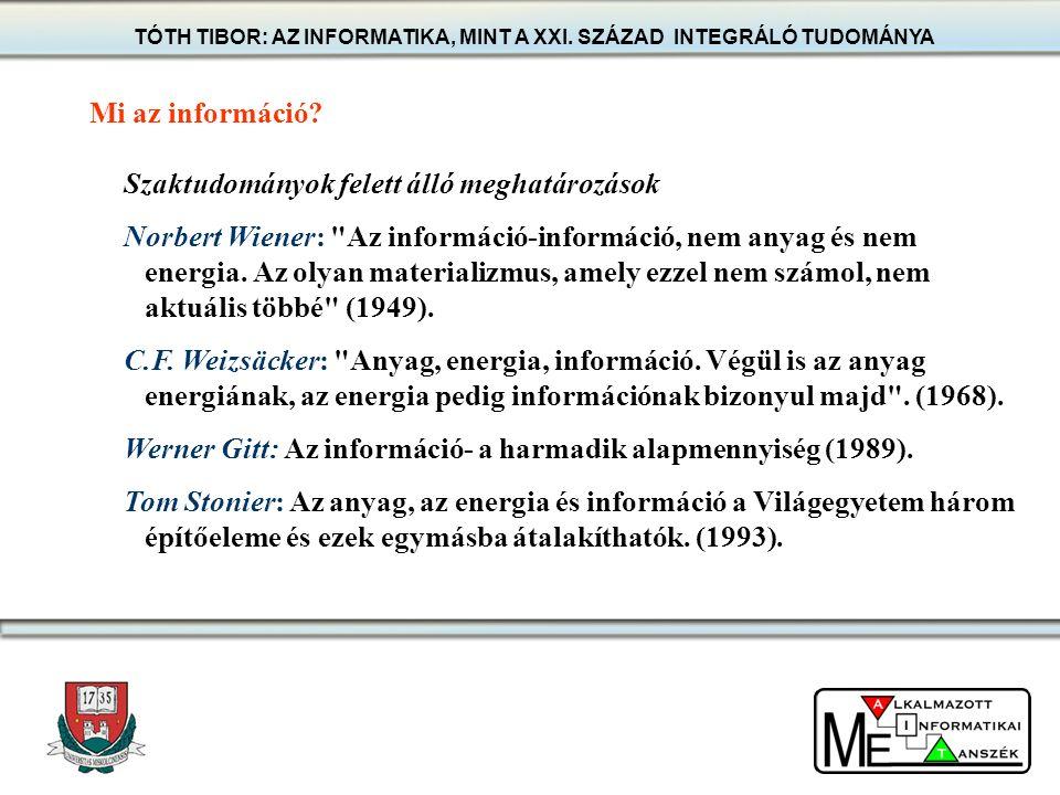 Bizonyos, hogy a modern informatika fejlesztésére és alkalmazására képes szakemberek képzése az egyik legjobb hosszú távú befektetés a magyar gazdaság számára is, mint ahogyan azt számos más ország példája bizonyítja.