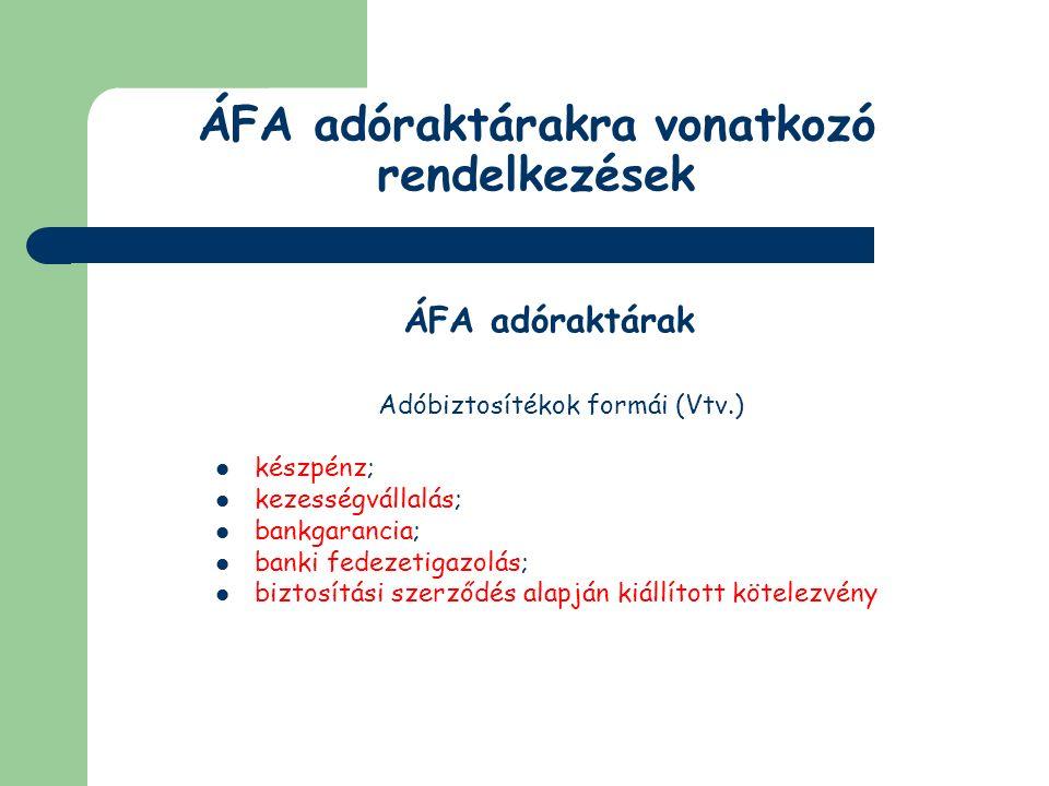 Külföldi utas ÁFA visszaigénylése Feltételei a külföldi utas érvényes úti okmányával vagy személye azonosítására szolgáló egyéb közokirattal igazolja jogállását a termékértékesítés - adóval számított - összellenértéke meghaladja a 175 eurónak megfelelő pénzösszeget a külföldi utas személyi vagy útipoggyászának részét képezik adó-visszaigénylő lap záradékolásával és lebélyegzésével a terméket a Közösség területéről kiléptető hatóság igazolja a termékértékesítés teljesítését tanúsító számla eredeti példányának egyidejű bemutatása a termék Közösség területéről való elhagyásának tényét legfeljebb a teljesítés napját követő 90 napon belül kell megtörténnie az értékesített terméket rendeltetésszerűen ne használják, egyéb módon ne hasznosítsák