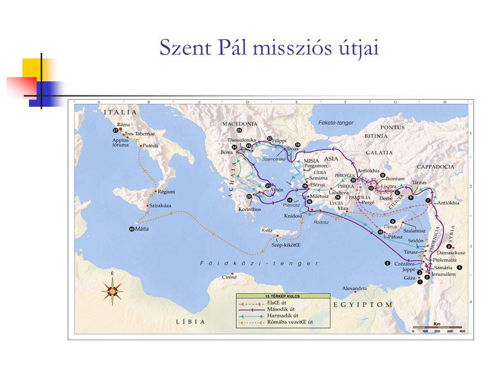 Szent Pál missziós útjai
