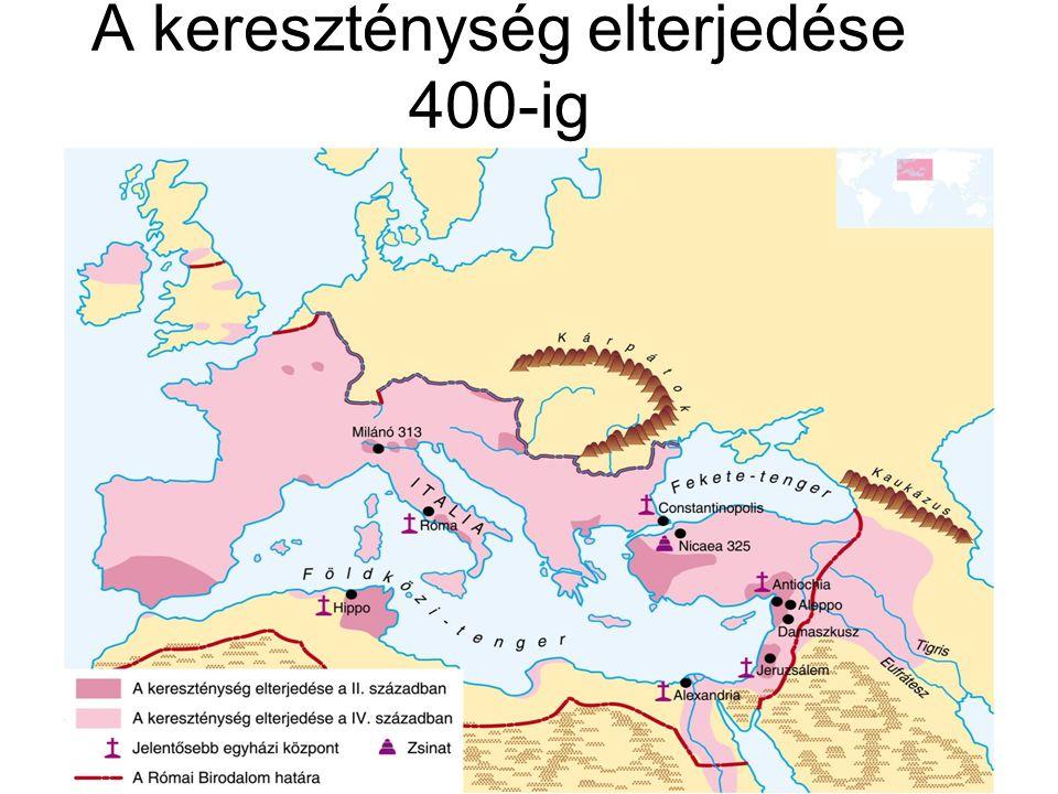 A kereszténység elterjedése 400-ig