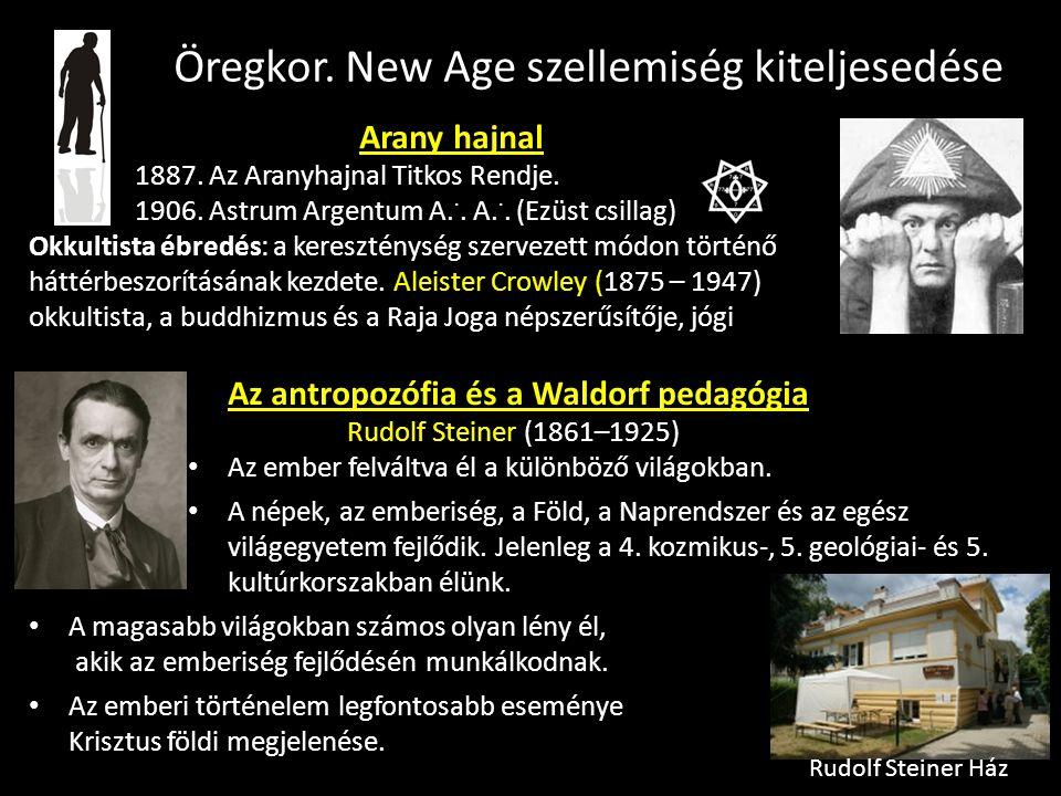 Az antropozófia és a Waldorf pedagógia Rudolf Steiner (1861–1925) Az ember felváltva él a különböző világokban.