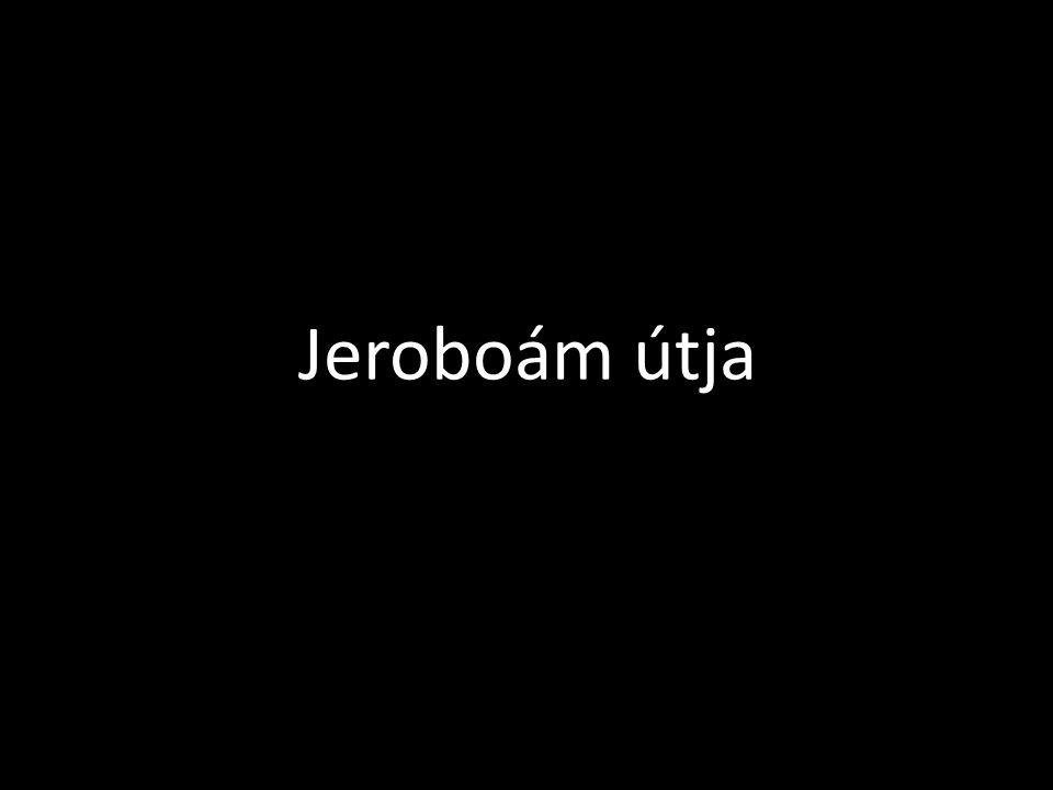 Jeroboám útja